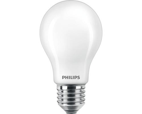 Ampoule LED A60 mat E27/7W (60W) 806lm 2700K blanc chaud