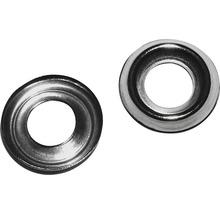 Rondelle de décoration 5x11 mm laiton nickelé, 50 unités-thumb-0