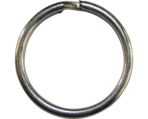 Porte-clés Ø 25mm acier