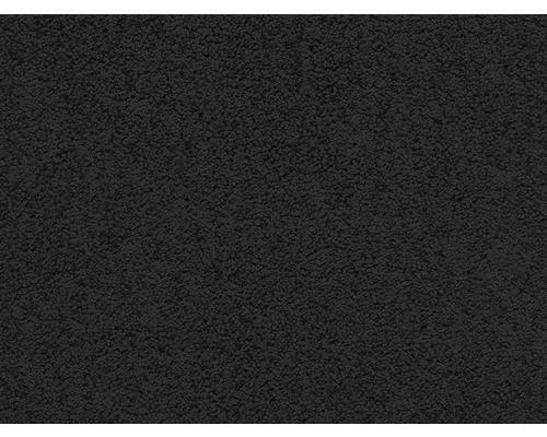 Teppichboden Saxony E-touch schwarz 400 cm breit (Meterware)