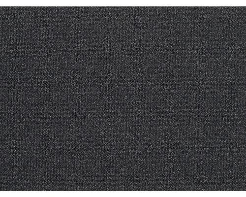 Moquette bouclée Rocca noir largeur 400 cm (au mètre)