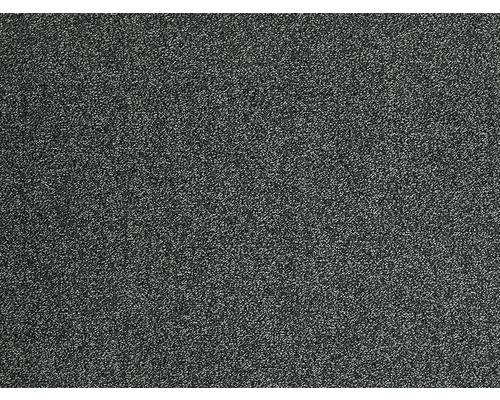 Teppichboden Frisé Evolve schwarz 500 cm breit (Meterware)