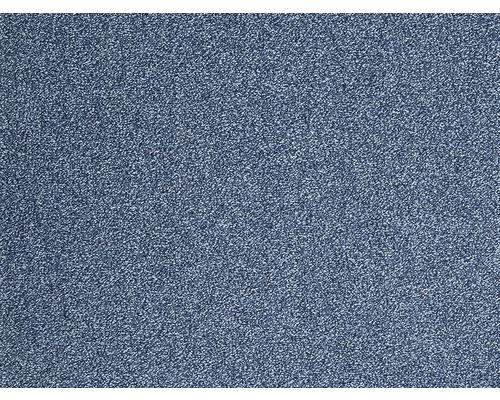 Moquette frisée Evolve bleu largeur 500 cm (au mètre)