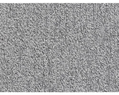 Moquette bouclée E-Major gris largeur 400 cm (au mètre)