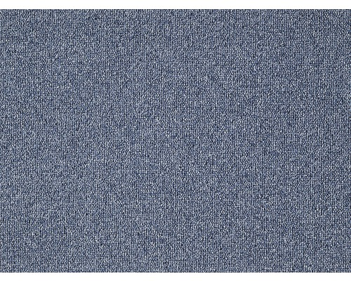 Moquette bouclée Rocca bleu largeur 400 cm (au mètre)