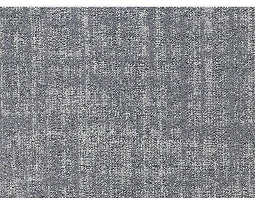 Moquette bouclée E-Grid gris largeur 400 cm (au mètre)