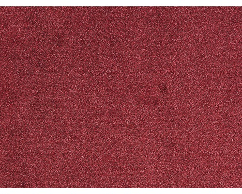Moquette frisée Evolve rouge largeur 500 cm (au mètre)