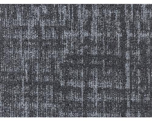 Moquette bouclée E-Grid noir largeur 400 cm (au mètre)