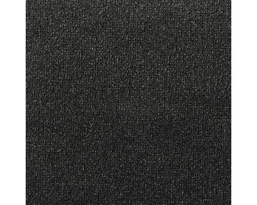 Teppichboden Velours Rocket schwarz 400 cm breit (Meterware)