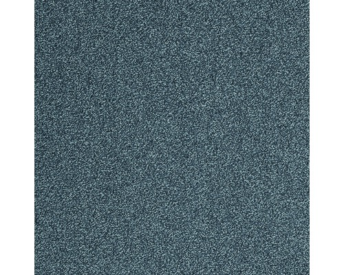 Teppichboden Frisé Evolve blau 500 cm breit (Meterware)