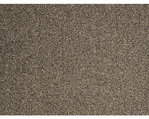 Moquette frisée Evolve marron largeur 400 cm (au mètre)