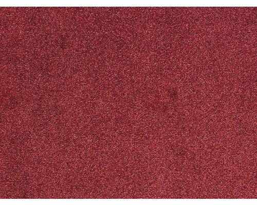 Moquette frisée Evolve rouge largeur 400 cm (au mètre)