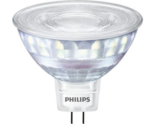 Ampoule LED à réflecteur à intensité lumineuse variable MR16 transparent GU5.3/7W(50W) 621 lm 2200 K + 2700 K blanc chaud 12V