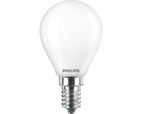 Ampoule sphérique LED P45 mat E14/6,5W(60W) 806 lm 2700 K blanc chaud