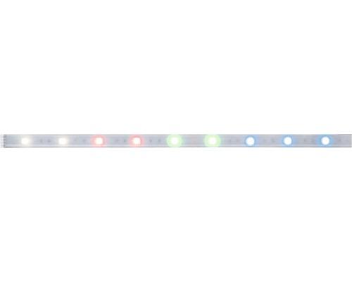 Strip MaxLED 250 IP44 1,0 m 7W 270 lm 3000 K blanc chaud RGBW Protect Cover avec fonction de changement de couleur revêtu 30 LED 24V convient comme extension pour le set de base convient au Smart Home après extension