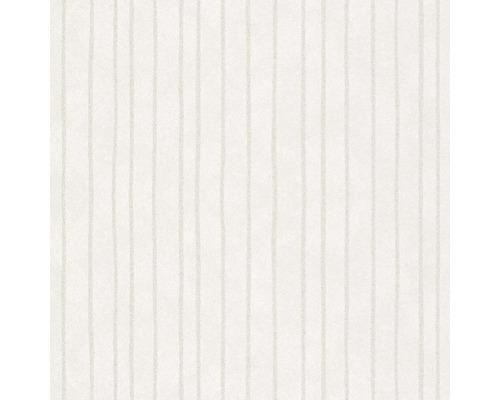 Papier peint intissé 84850 Memento rayures blanc