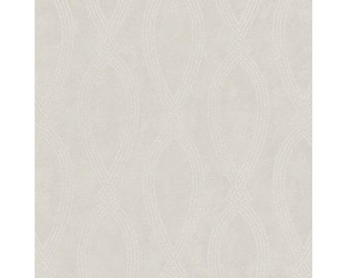 Papier peint intissé 84860 Memento Graphique grège