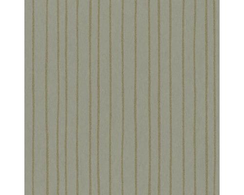 Papier peint intissé 84857 Memento rayures vert