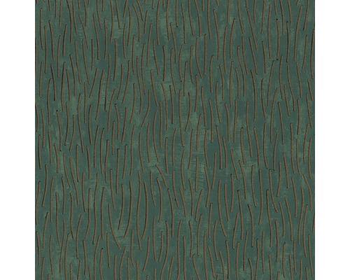 Papier peint intissé 84871 Memento rayures vert