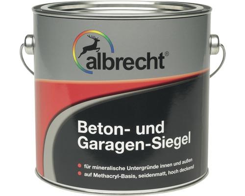 Produit d''étanchéité pour béton et garages ALB pour enduction pour sol gris pierre 5 l