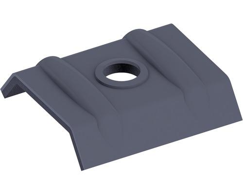 Clip de fixation PRECIT pour panneaux sandwich RAL 7016 anthracite gris paquet =10 pièces