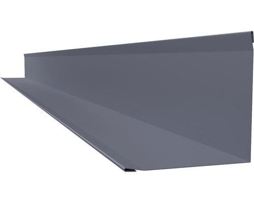 Angle intérieur PRECIT pour lambris RAL 7016 anthracite gris longueur 2m