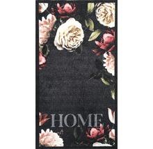 Tapis de couloir rose vif Roses anthracite 66x120 cm-thumb-0