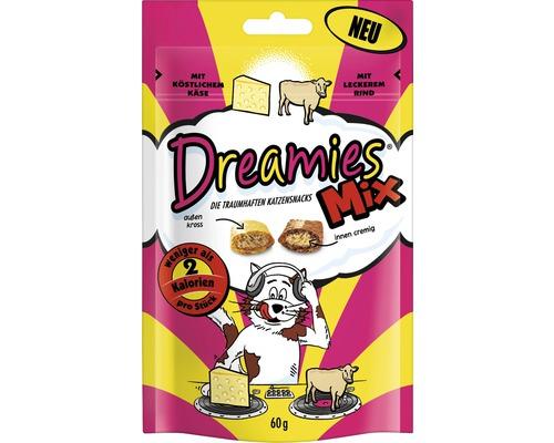 Dreamies Mix au fromage et au boeuf 60 g