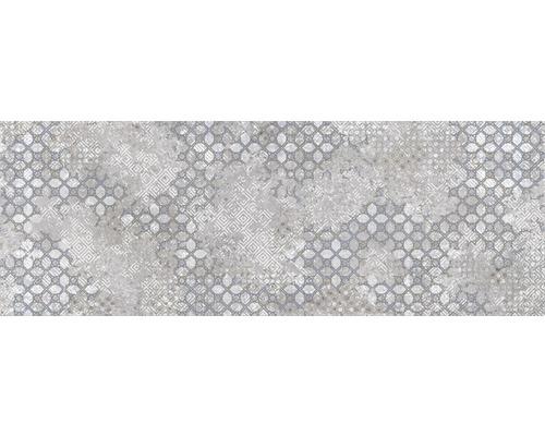 Carrelage décoratif en grès Downtown Steel 25x70cm