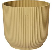Cache-pot Elho Vibes fold 18 cm jaune beurre-thumb-0