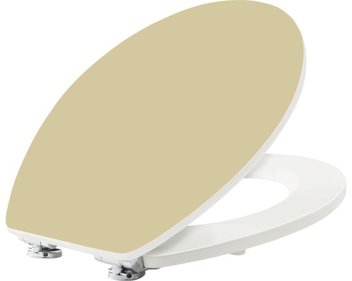 WC-Sitz form & style Color Edge Cappucino mit Absenkautomatik