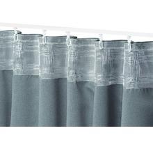 Voilage à passants tissu Midnight vert 140x255 cm-thumb-2