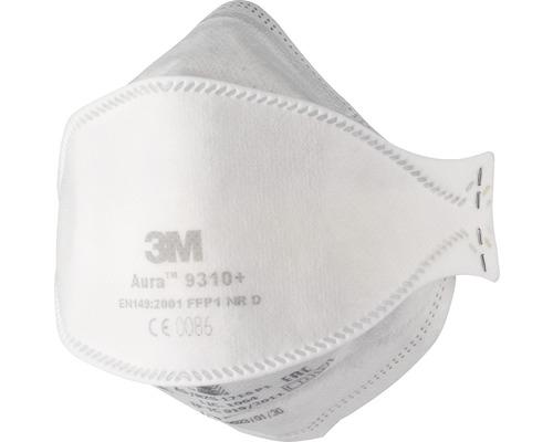 Masque de protection respiratoire 3M™ 9310PRO, 20 pièces, classe de protection FFP1