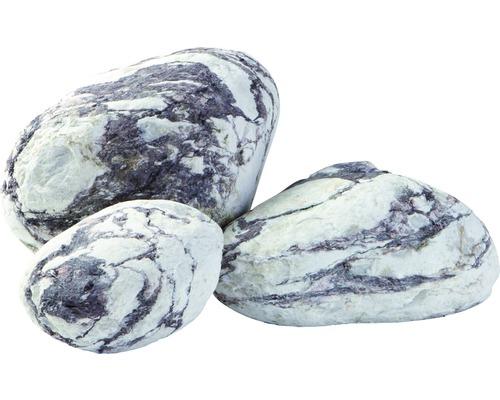 Gravier de marbre Zandobbio Matrix Bianco Rosso 200 - 400 mm 600 kg