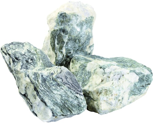 Gravillon de marbre Zandobbio Matrix Verde 200-400 mm 600 kg