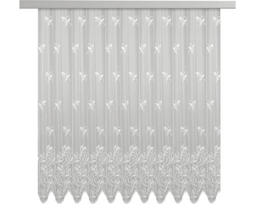 Jacquard-Store weiß 175x300 cm