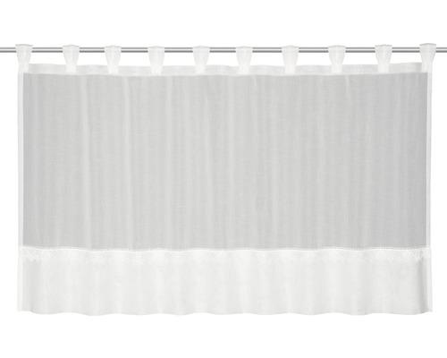 Schlaufenpanneau Kelly weiß 70x140 cm