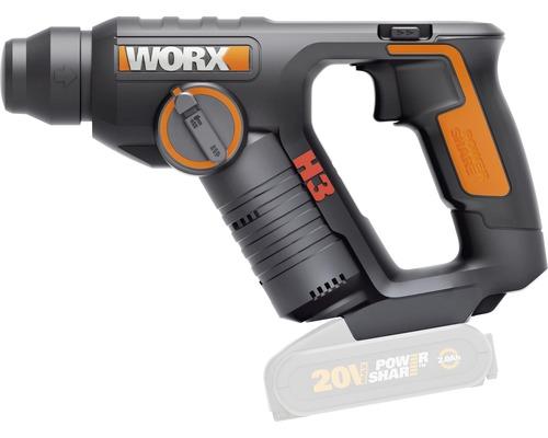 Akku-Bohrhammer Worx 3-in-1 20V WX394.91, ohne Akku und Ladegerät