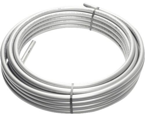 Tube d''alimentation en aluminium composite REHAU RAUTITAN stable 16,2x2,6 mm 100 m en couronne