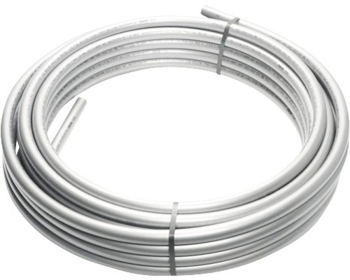 Tube d''alimentation en aluminium composite REHAU RAUTITAN stable 25x3,7 mm 50 m en couronne