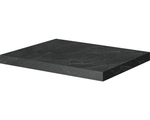 Waschtischplatte Xpressline 4035 58 cm Schiefer Nachbildung