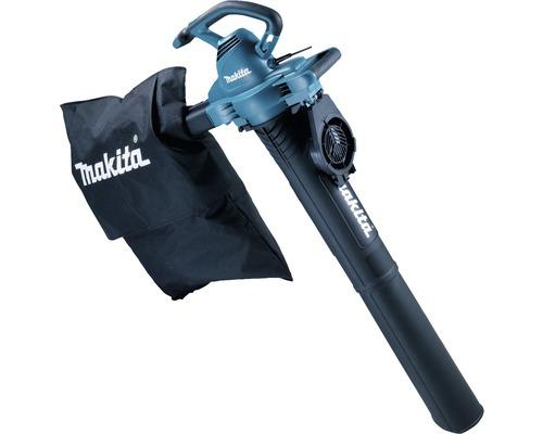Souffleur à feuilles électrique MAKITA UB0801V avec kit aspirateur pour le transformer en aspirateur à feuilles