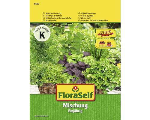 Mélange d''herbes annuelle FloraSelf semences de fines herbes