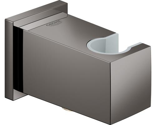 Wandanschlussbogen GROHE Eurocube hard graphit poliert 26370A00