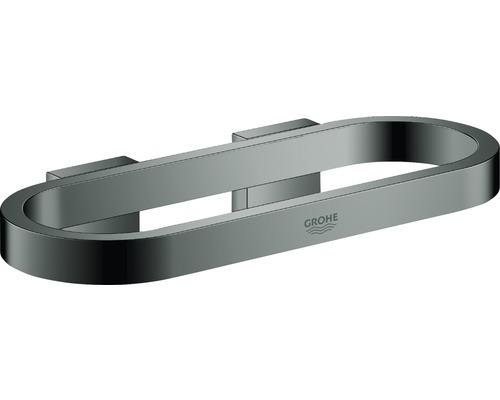 Anneau porte-serviettes GROHE Selection hard graphite poli 4103A00