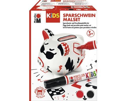 Kit de peinture Marabu KiDS tirelire cochon