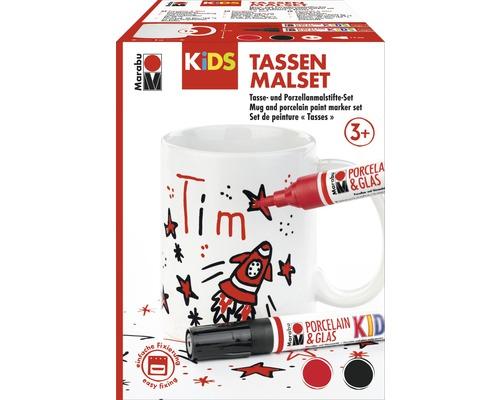 Kit de peinture Marabu KiDS tasses TIM