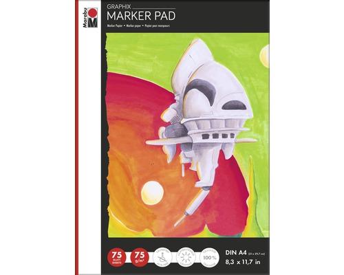 Marabu Marker Pad GRAPHIX, DIN A4, 75g/m², 75 feuilles