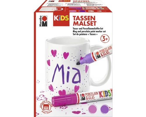 Kit de peinture Marabu KiDS tasses MIA