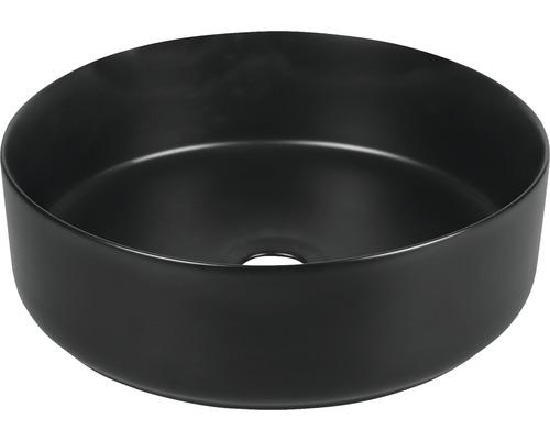 Vasque à poser Mira 36 cm noir mat